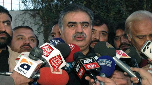 PML-N's Sanaullah Zehri elected CM Balochistan