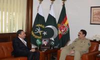 Gen. Raheel, Saudi Assistant Defence Minister discuss regional security