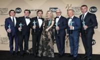 'Spotlight' actors of color win big at SAG awards amid diversity furor