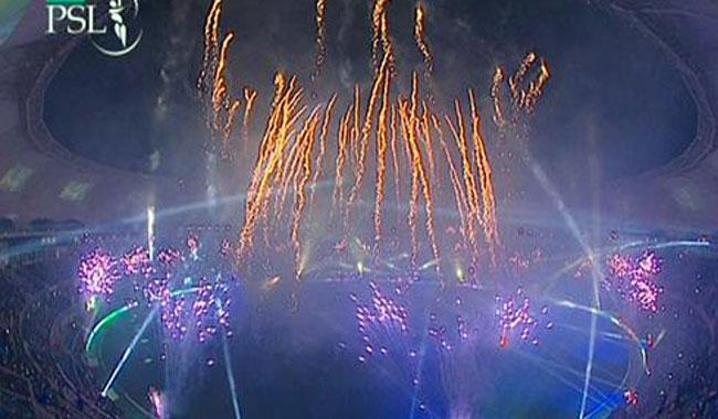 PSL inaugurated amid fireworks, music extravaganza in Dubai