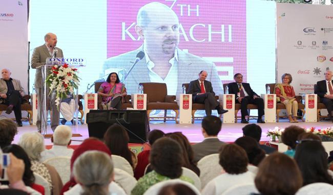 Seventh Karachi Literature Festival kicks off