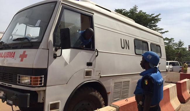 UN police base under attack in Mali