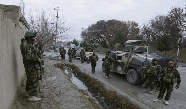 Suicide bomber in Afghanistan kills three