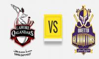 PSL: Gladiators win toss, elect to field against Qalandars