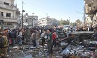 Suicide blast near Damascus police club kills several