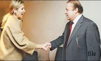 PM Nawaz receives Netherland's Queen Maxima