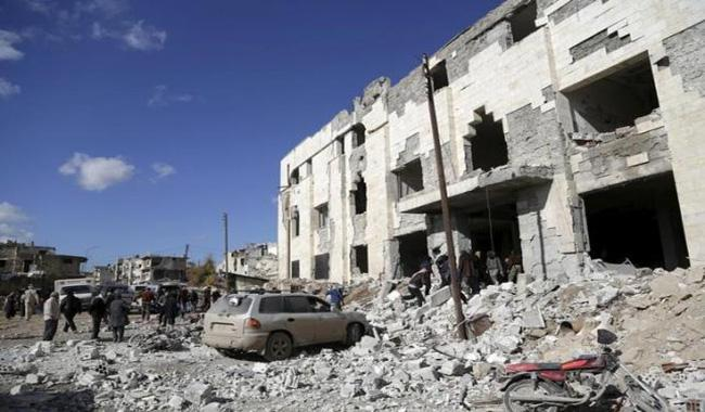 Russia, pressed to end Syria bombing, proposes March truce