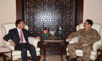 Incoming Afghan Ambassador calls on Gen. Raheel