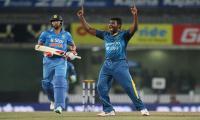 Sri Lanka´s Perera grabs hat-trick against India