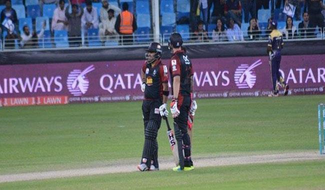 Delport, Umar steer Lahore to 164-3 against Peshawar