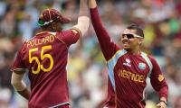 West Indians Narine and Pollard out of World Twenty20