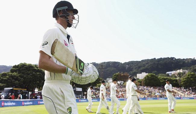 Voges double-ton helps Australia take huge lead