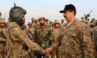 Army Chief lauds troops' training standard at military exercise