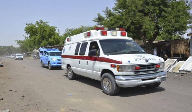 Blast kills at least 21 at mosque in Nigeria