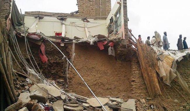 Two children killed, nine missing in Chitral landslide