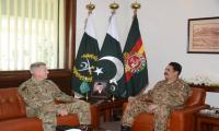 New US commander in Afghanistan meets General Raheel