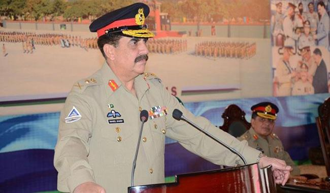 General Raheel calls for across the board accountability