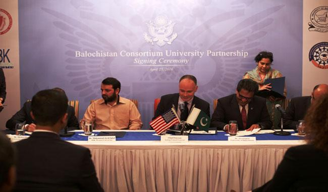 University of Massachusetts, Balochistan universities 'build bridges'