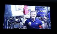 British astronaut runs marathon in space