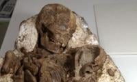 Taiwan finds 4,800-year-old fossil of mother cradling baby