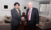 Pakistan, UK determined to strengthen bilateral relations