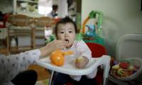 Day care babies catch stomach bugs earlier