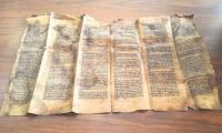 A Syrian held selling of 600-year-old Torah in Istanbul