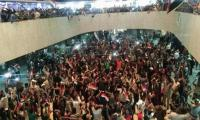 Sadr followers storm into Baghdad's Green Zone, political crisis deepens