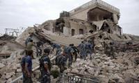 Aleppo bombed as Syrian army begins