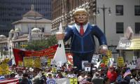 May Day rallies in Los Angeles carry strong anti-Trump theme