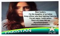 Why this daughter of Indian soldier wants peace with Pakistan?