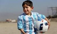 Afghanistan's 'Plastic-Messi' comes to Pakistan