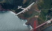 Solar Plane Leaves California for Arizona