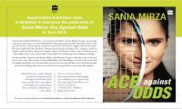 'Ace Against Odds' - Sania Mirza's autobiography to hit stands this year