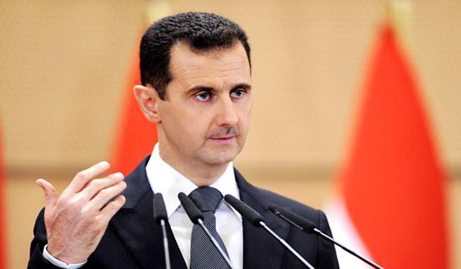 Syria´s Assad says goal is