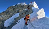 Dutch climber dies during descent from Everest summit