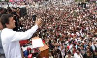 Corrupt leaders cannot solve the issues of the country: Imran Khan