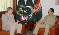 General Raheel Sharif meets Czech army chief