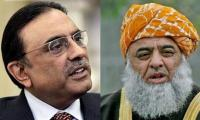 Fazlur Rehman advises Zardari to meet PM Nawaz