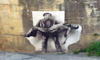 Private collectors display their Banksy art in Rome