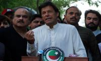 Imran flays Nawaz over US drone attack