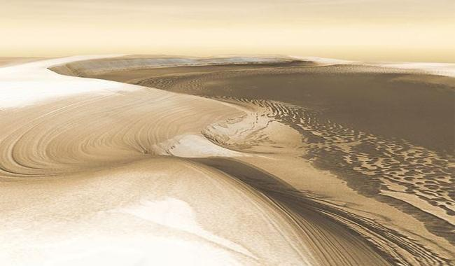 Radar images reveal Mars is coming out of an ice age