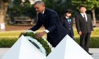 Obama visits Hiroshima to ponder