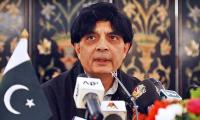 Fake CNIC holders to get seven years in prison, says Nisar