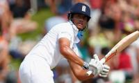Untidy Cook misses out on 10,000 mark again