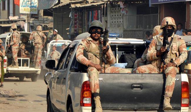 Rangers kill three terrorists in Karachi