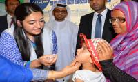 Aseefa Bhutto oversees anti-polio drive in Karachi