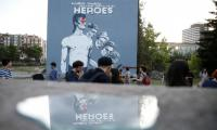 Bosnia pays tribute to David Bowie with vast mural