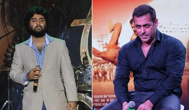 Arjiit Singh details incident that angered Salman