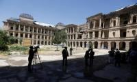 Reconstruction of ruined palace begins in Kabul